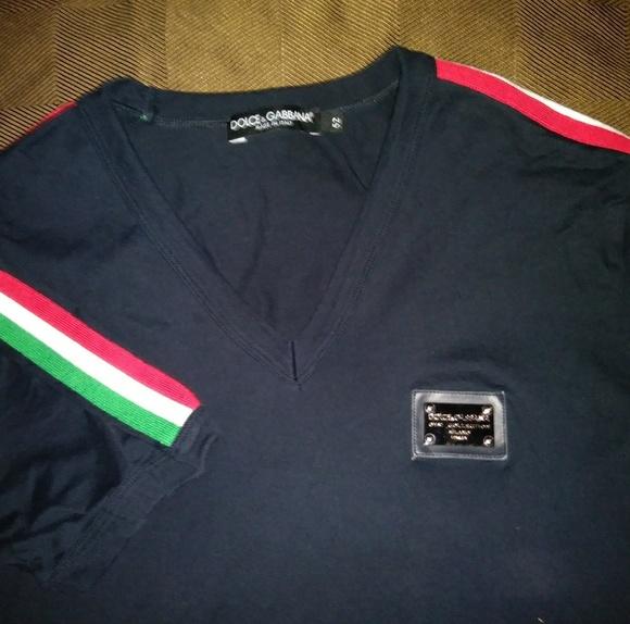 f9a10f3994df7 Dolce   Gabbana Other - EUC DOLCE   GABBANA Italian racing stripe ...